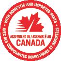 Assembled in Canada